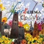 manifestazione floreale nel centro storico albenganese
